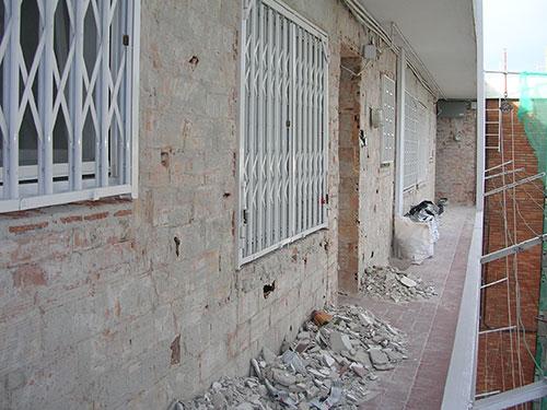 restauración y limpieza de fachadas