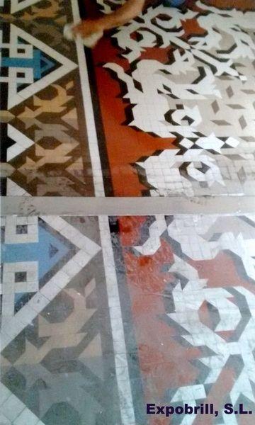 mosaico modernista en barcelona